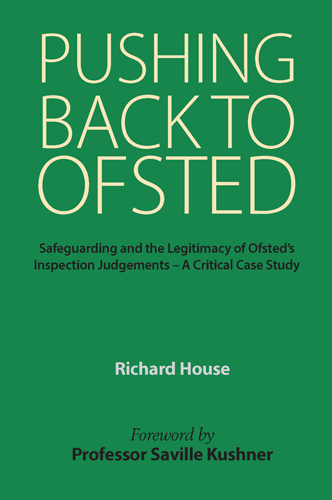 Cover of the book 'Pushing Back to Ofsted'