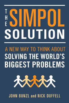 Book cover of The Simpol Solution