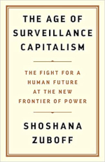 Image of the cover of the book 'Surveillance Capitalism'