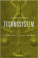 Image of the cover of the book 'Technosystem'