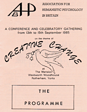 Flyer for the conference