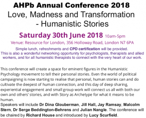 The flyer for the 2018 AHPb conference