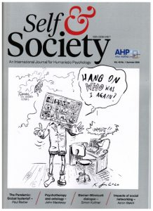 Image of a cover of Self & Society