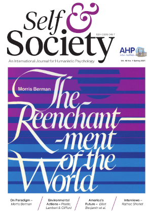 The cover of Self & Society, Vol. 49, Issue 1